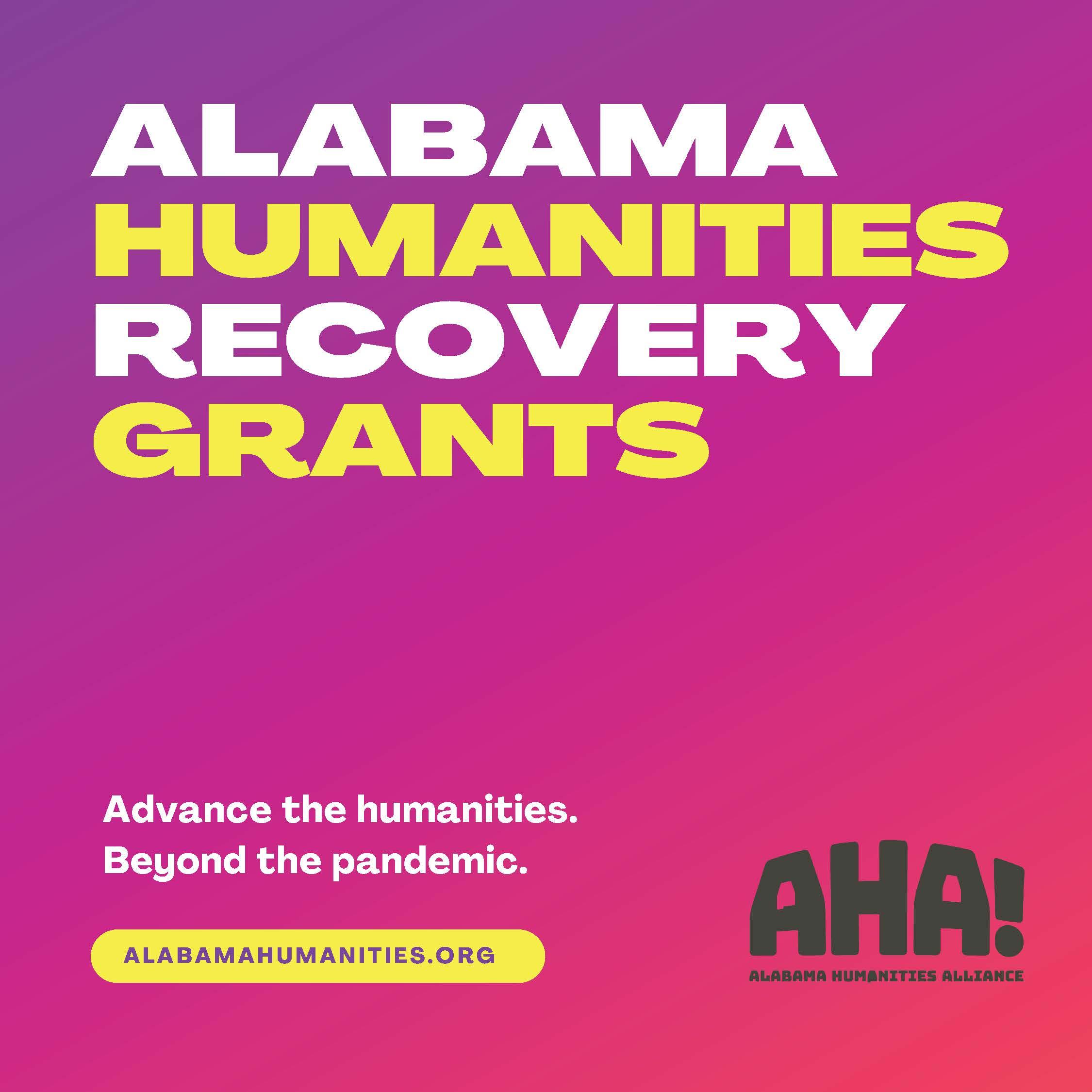 Alabama Humanities Recovery Grants